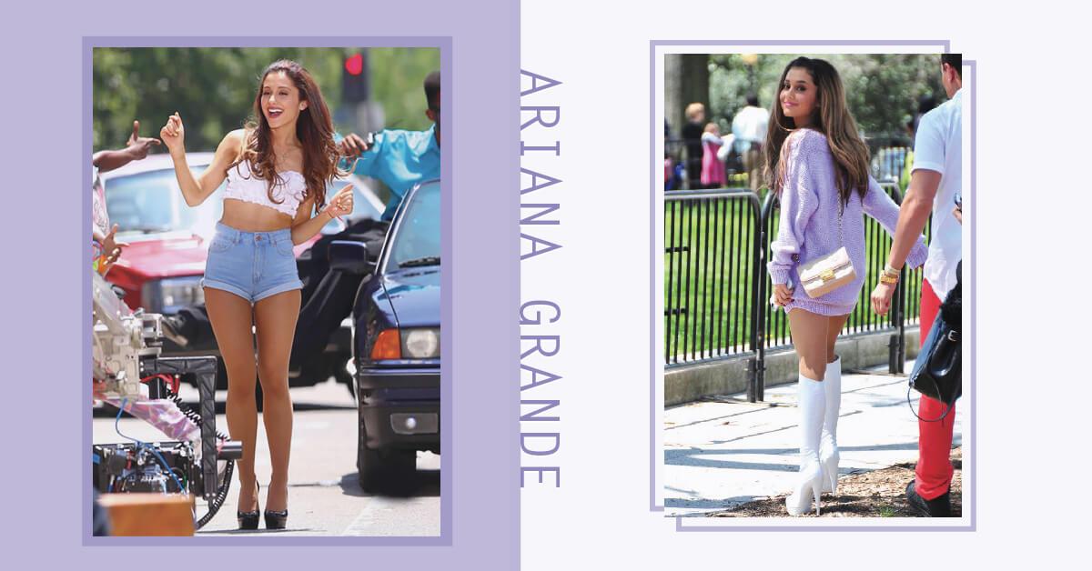 嬌小沒關係,最重要的是好比例!Ariana Grande穿搭「3要素」讓小隻女也能穿出氣場