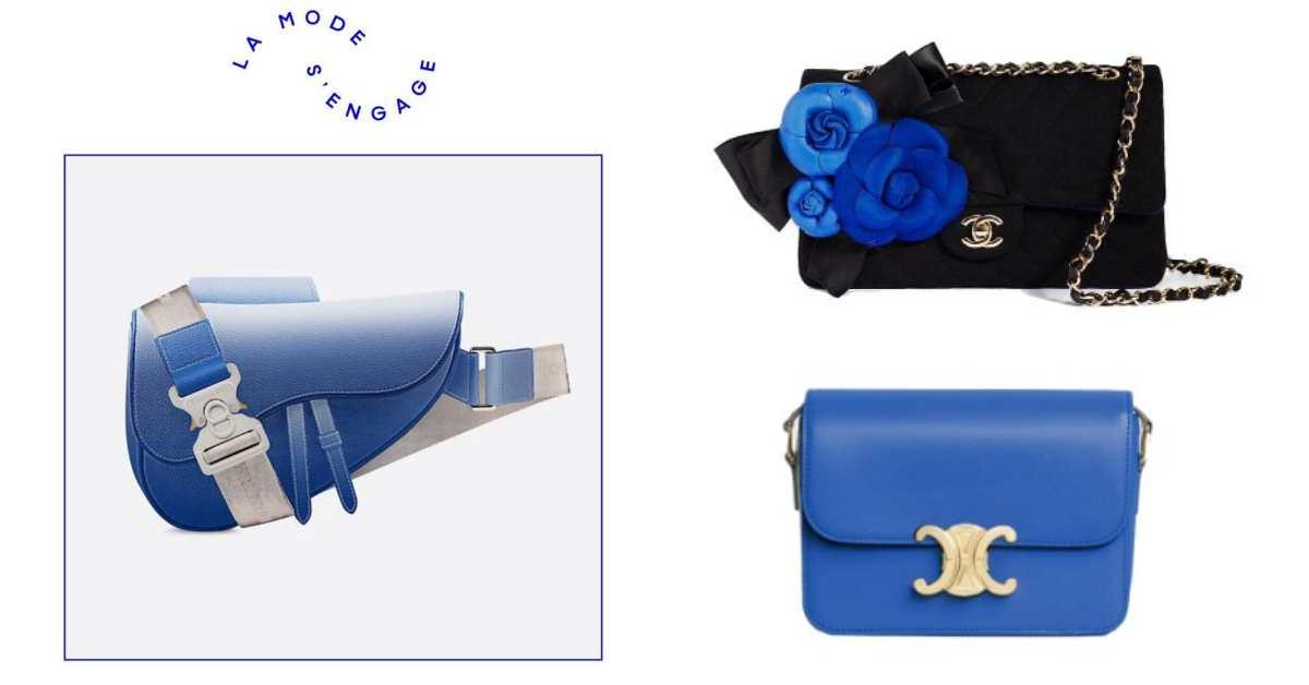 Chanel、Celine、Dior、LV 到 Loewe,80個品牌為抗疫聯名推出「經典藍」單品!