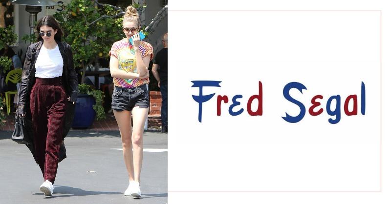 抓住3大關鍵,Gigi Hadid、Kendall Jenner 熱愛的選物店 Fred Segal 讓妳秋季穿的很時尚