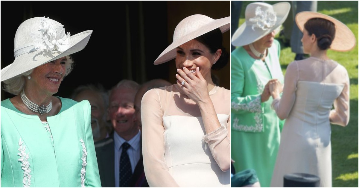 梅根已完全融入皇室家族?在查爾斯王儲70大壽慶祝活動與卡蜜拉牽手宛如BFF