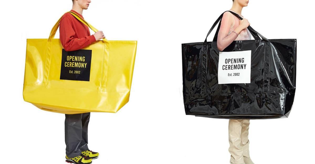 這麼大的包是要離家出走嗎?前Kenzo創意總監推超搞笑「巨型托特包」引代購潮