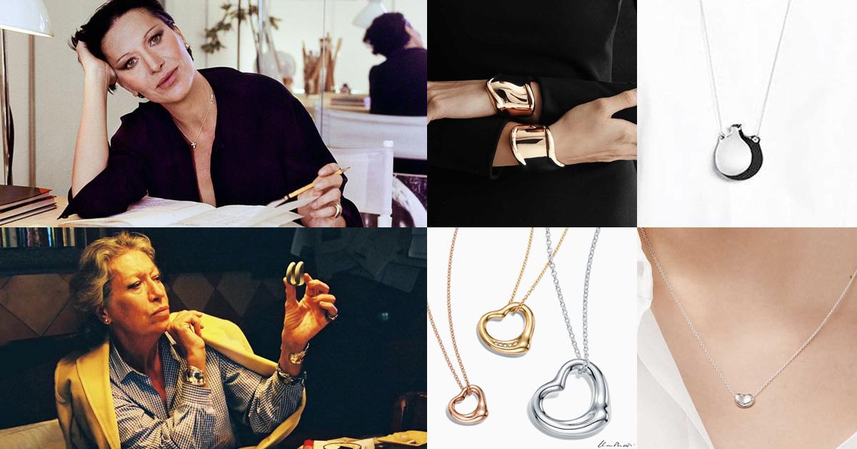 【克編雜記】Tiffany相思豆項鍊、愛心項鍊...品牌10%業績都靠她!細數7大經典緬懷傳奇設計師Elsa Peretti