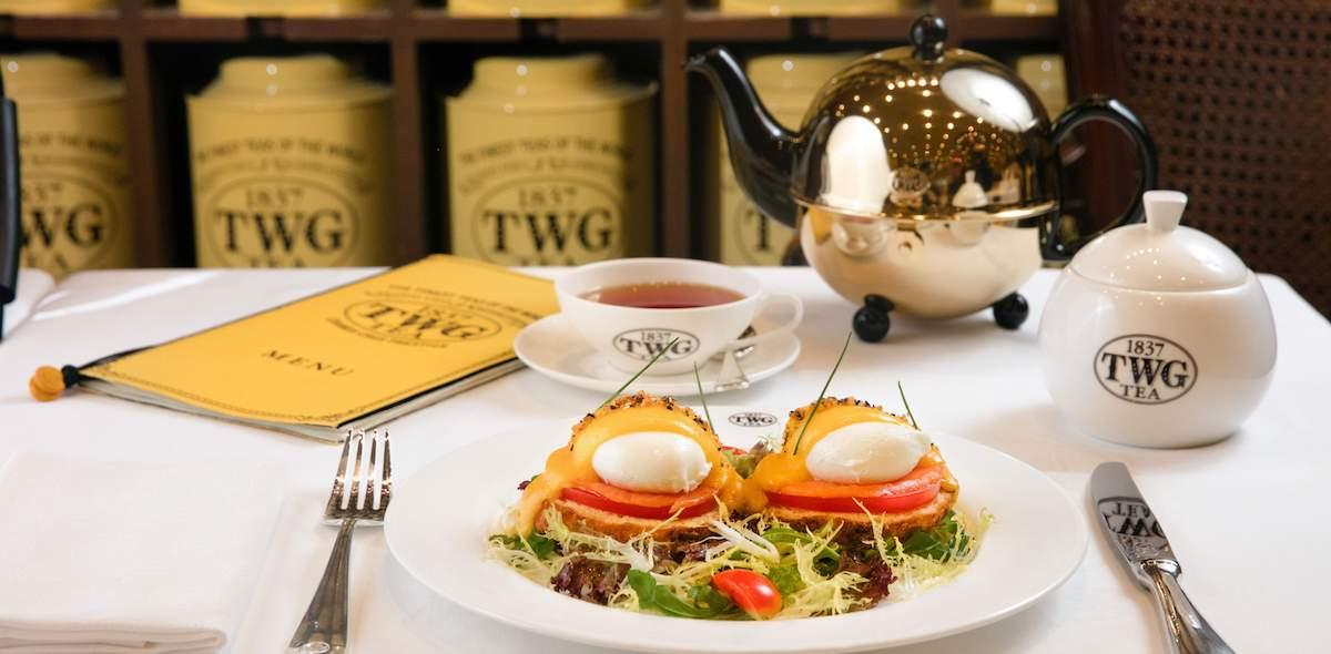 TWG 的全新早午餐套組,讓妳的下午茶瞬間夢幻起來