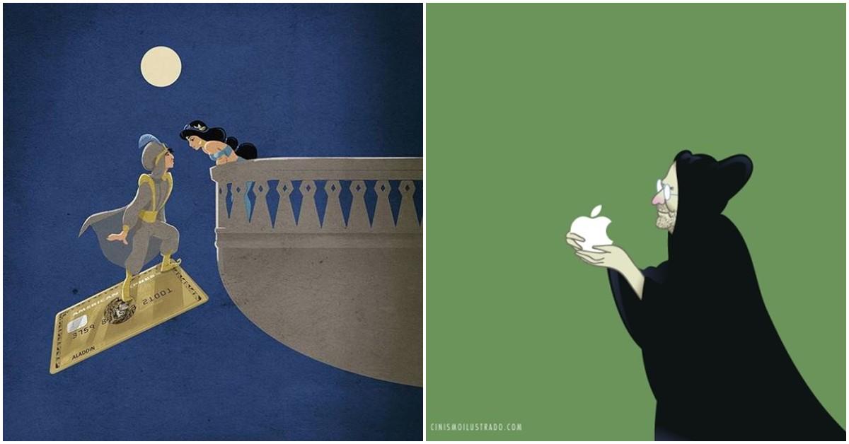小三其實是手機!社群與真實的差距!看這7張現代諷刺插畫直擊你內心最深處