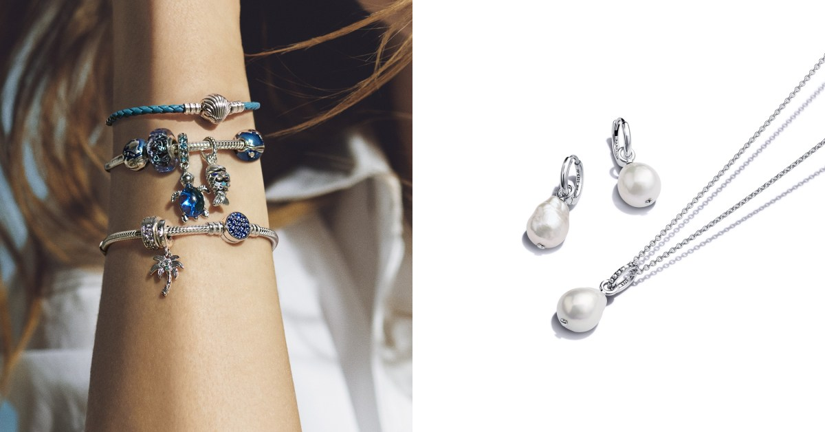 Pandora珠寶夏日推薦Top 6!海星、海豚到海龜....「巴洛克珍珠」特殊造型每款都只有一個  !