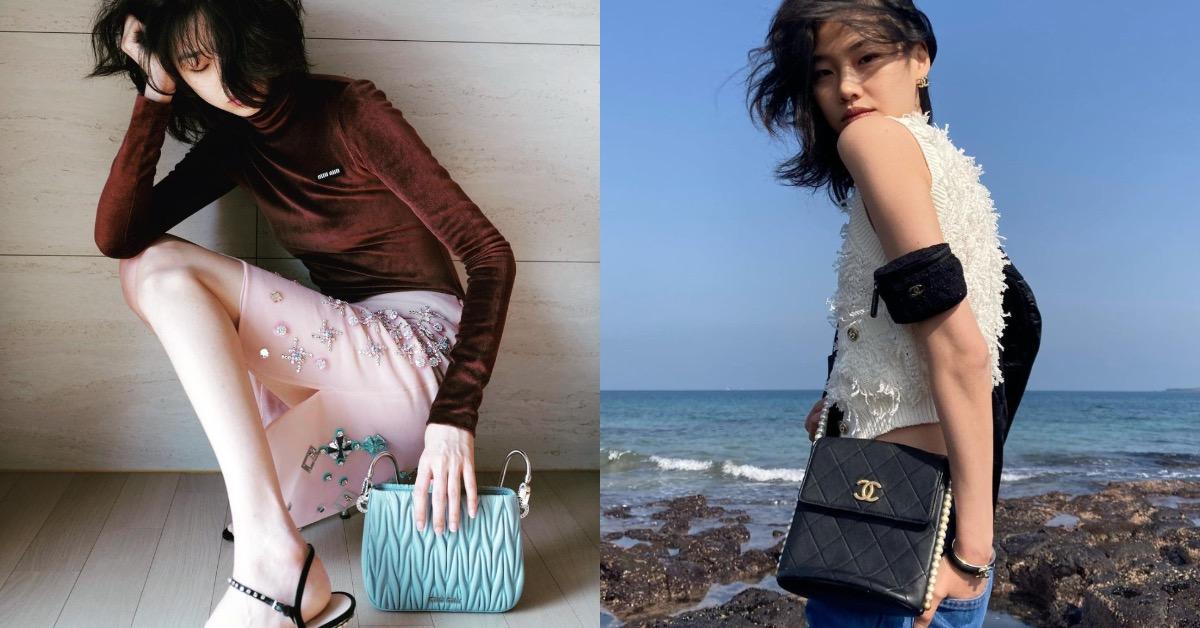 《魷魚遊戲》「姜曉」鄭浩妍爆紅,IG私服照精品包大點名,「這款」Celine老花包BLACKPINK Lisa也狂愛!