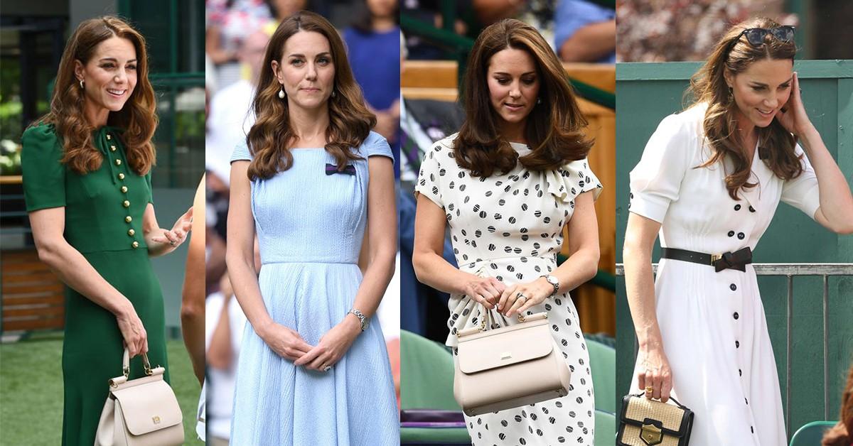 凱特簡直好媳婦穿搭模範!回顧歷年溫網,「連身洋裝」跟著王妃這樣穿