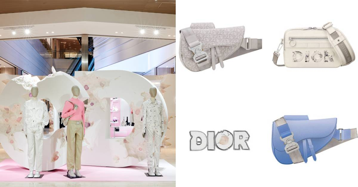 Dior在台北重現大秀場景!絕美藝術品、限定老花馬鞍包,週末打卡購物就到這裡