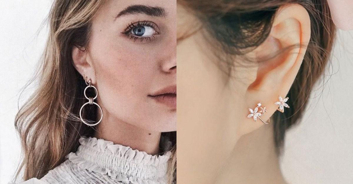 【單品買起來】挑對「耳環」不減肥臉直接小一半!圓臉、國字臉、長臉深入解析