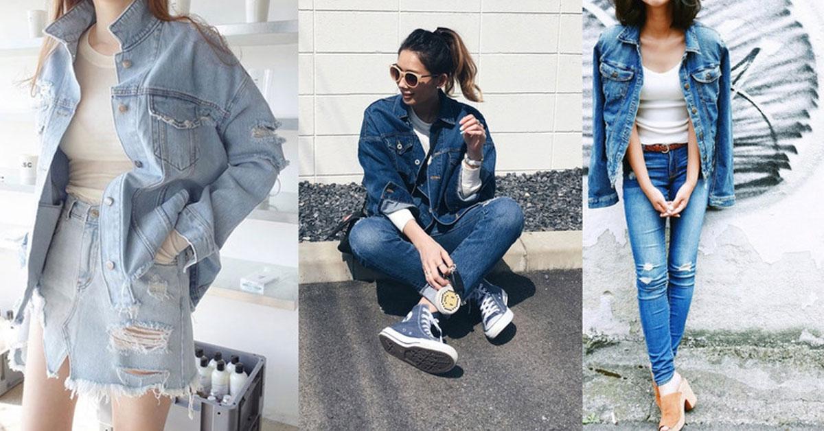 不敗經典單品「丹寧外套」,4種時尚穿搭必修學分
