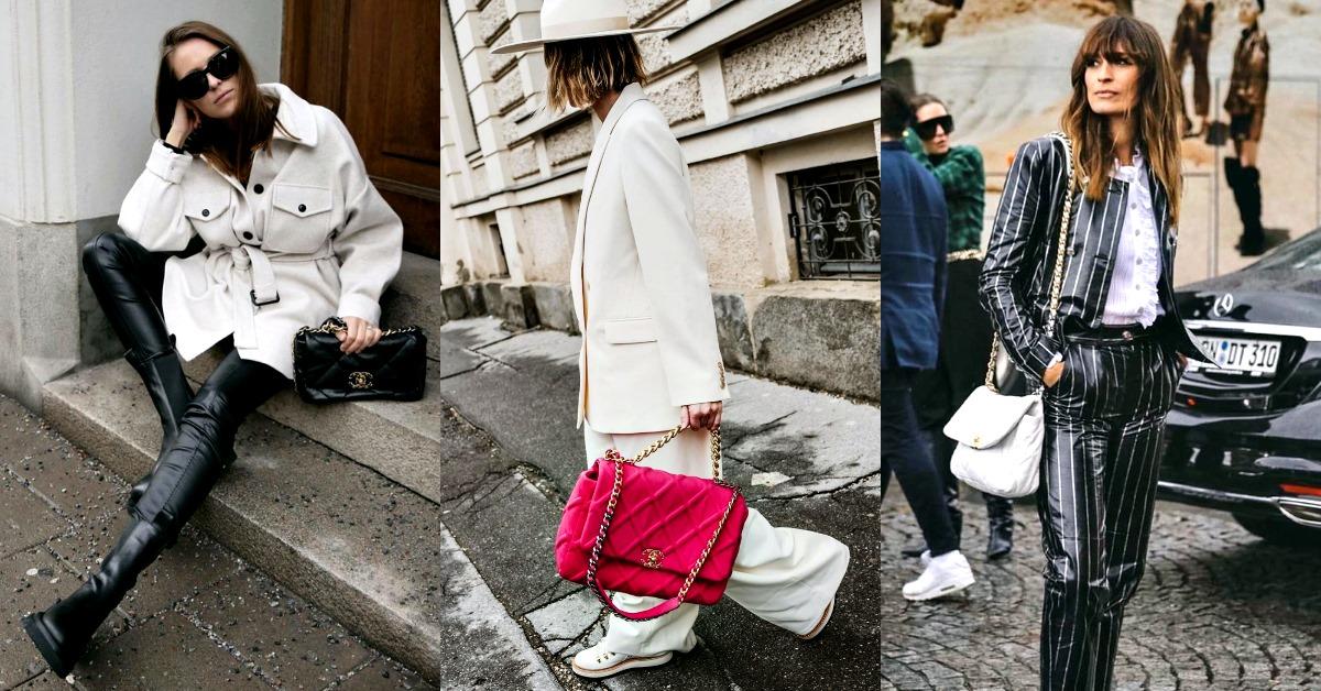 2020年最夯話題包「Chanel 19」怎麼搭最潮?跟著街拍達人掌握這5個穿搭準沒錯!