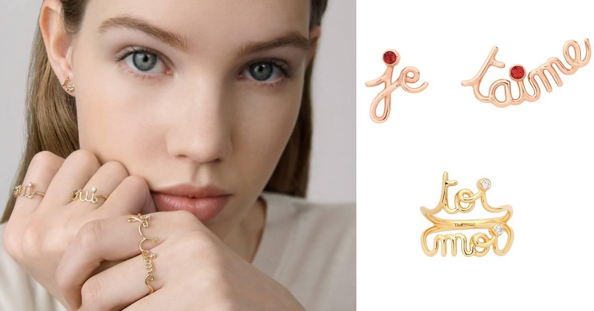 Dior情人節設計太撩了!這次就把法文的「我愛你、我和你」戴在手上告白