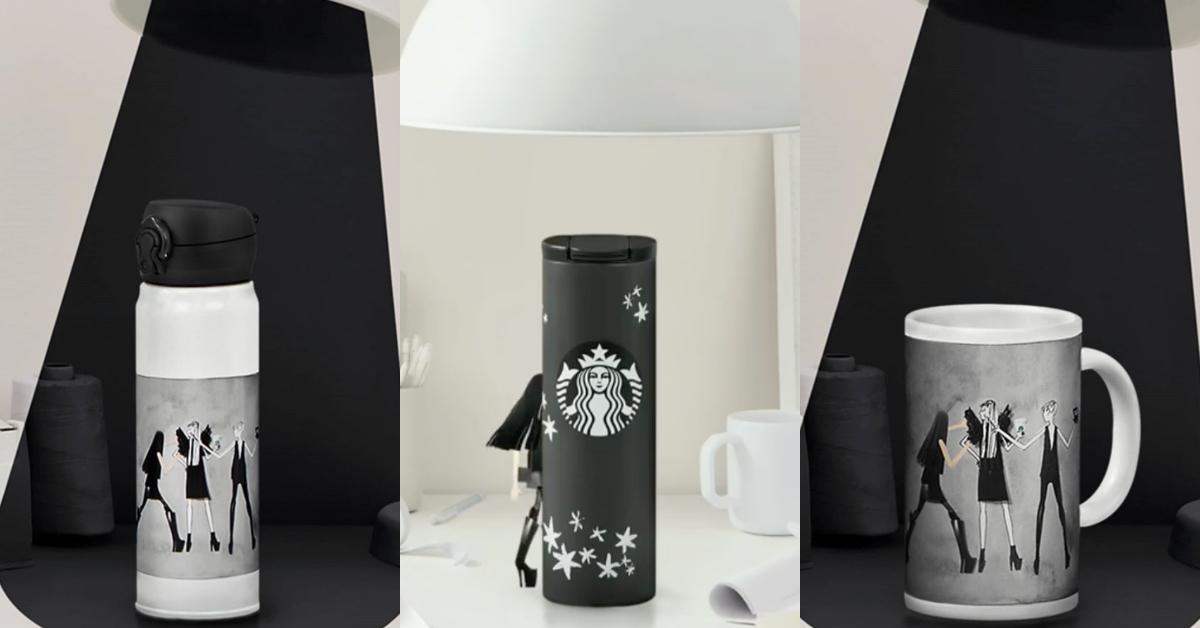 星巴克攜手「婚紗女王 Vera Wang」 推聯名杯款!「低調黑白色系、手稿畫風」時髦小資女必收