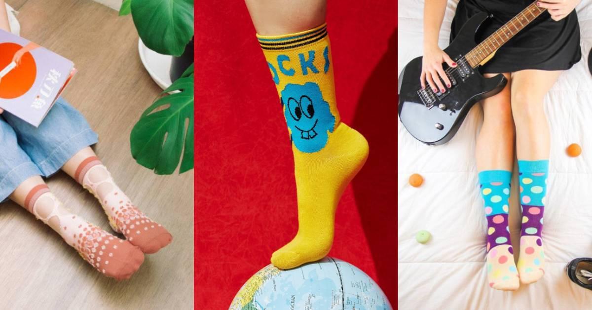 最可愛的足下風景!特搜4個春夏必備的繽紛襪子品牌,一次滿足少女心與童心