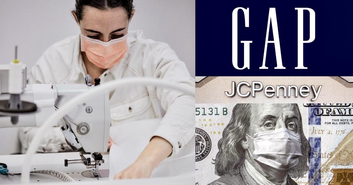 疫情重創全球經濟!時尚巨擘GAP、 JCPenney...不堪虧損,復甦之路遙遙無期