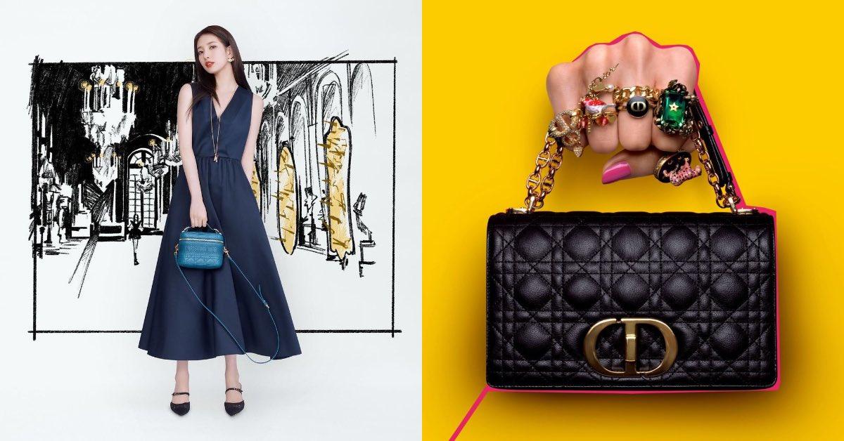 2021 Dior包包推薦這4款!國民初戀秀智狂曬 ,馬鞍包、Lady D-Lite....每個都想要!