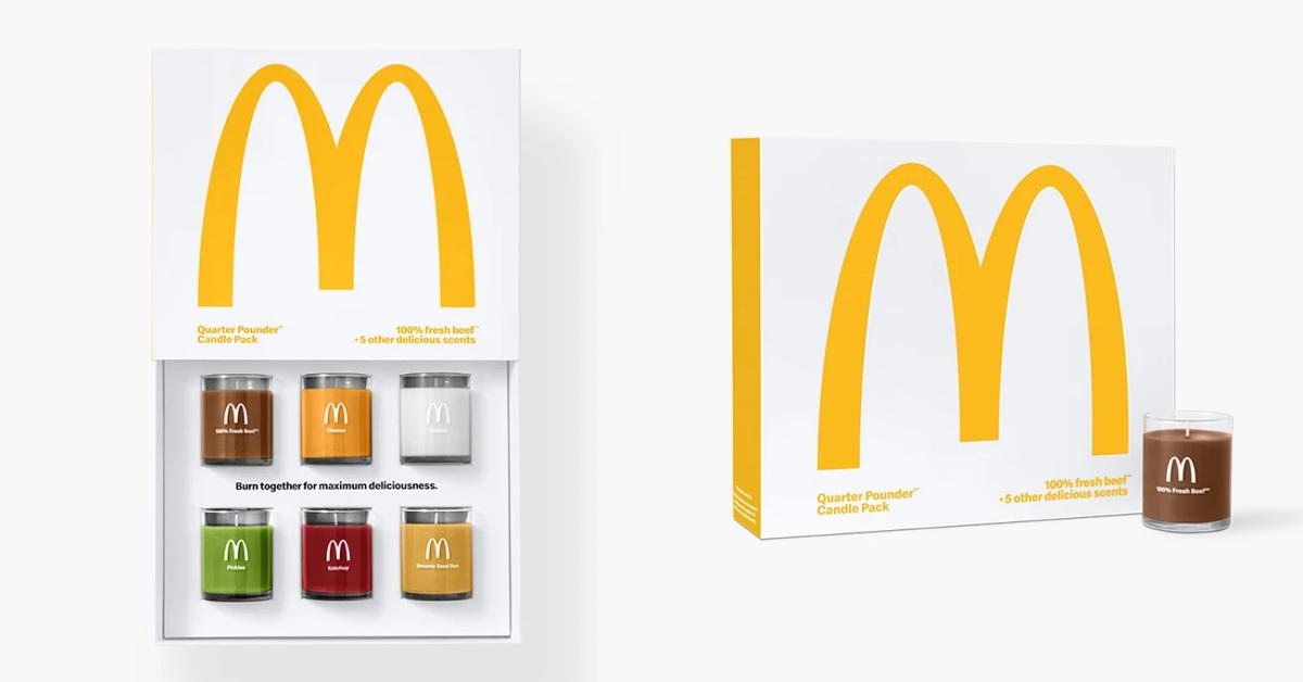 多種口味任你配!麥當勞推出「四盎司牛肉漢堡香氛」組合,網推:佛系減肥餐!