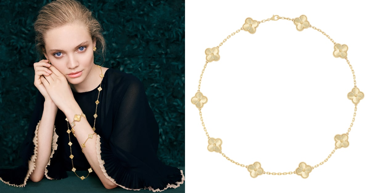 女人的第一件珠寶就是它!梵克雅寶Alhambra系列,伴隨女孩蛻變成女人!