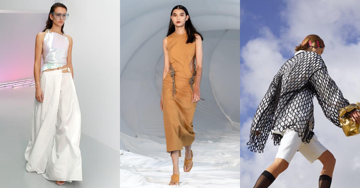 2021春夏流行趨勢Top10!漁網設計、挖洞洋裝、慵懶寬褲....穿搭必學,掌握精髓變身時尚女王!