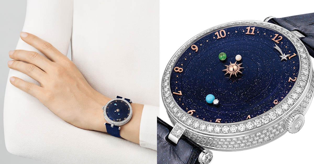 宇宙行星運轉就在手中真實上演!「這個」牌子的腕錶讓你舉投足都浪漫!
