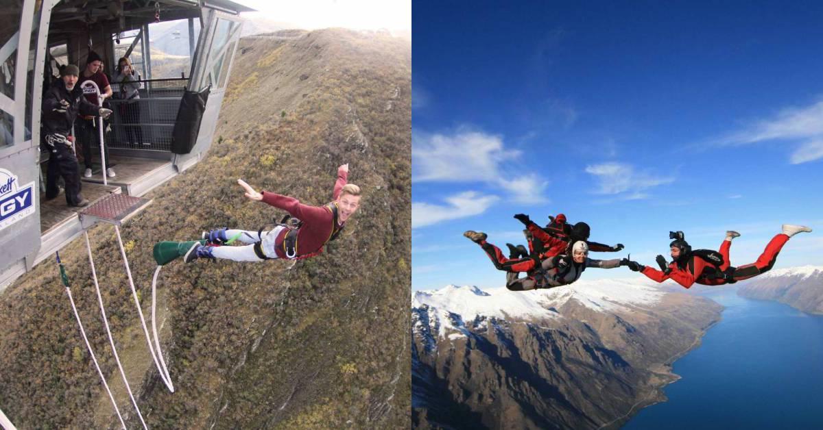 【紐西蘭】皇后鎮極限運動推薦:跳傘、高空彈跳、高空鞦韆,體驗介紹、地點、預訂方式總整理