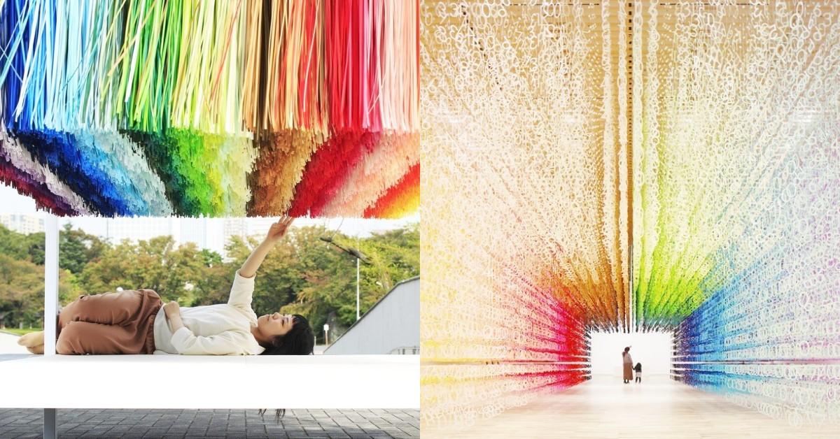 網美IG牆又一處!日本最美《100colors光譜漫遊》敦南誠品登場,繽紛亮點搶先帶你看