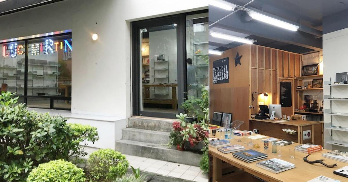 日本紅牌雜誌《POPEYE》都來過!「Lucy Martin Art Bookshop&Café 」讓民生社區終止出走潮!