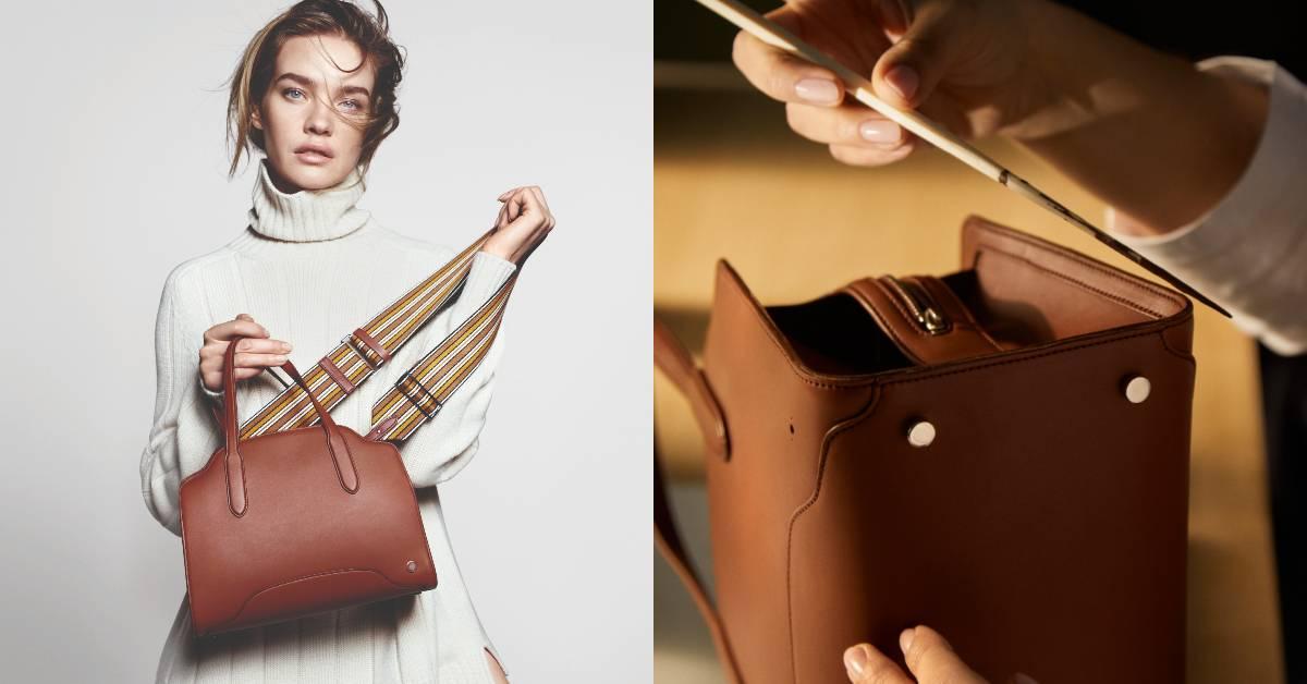 2021 IT Bag再+1!Loro Piana「Sesia」全新包款頂級皮革與流線設計太吸睛,女星、名模和LVMH太子妃都淪陷!