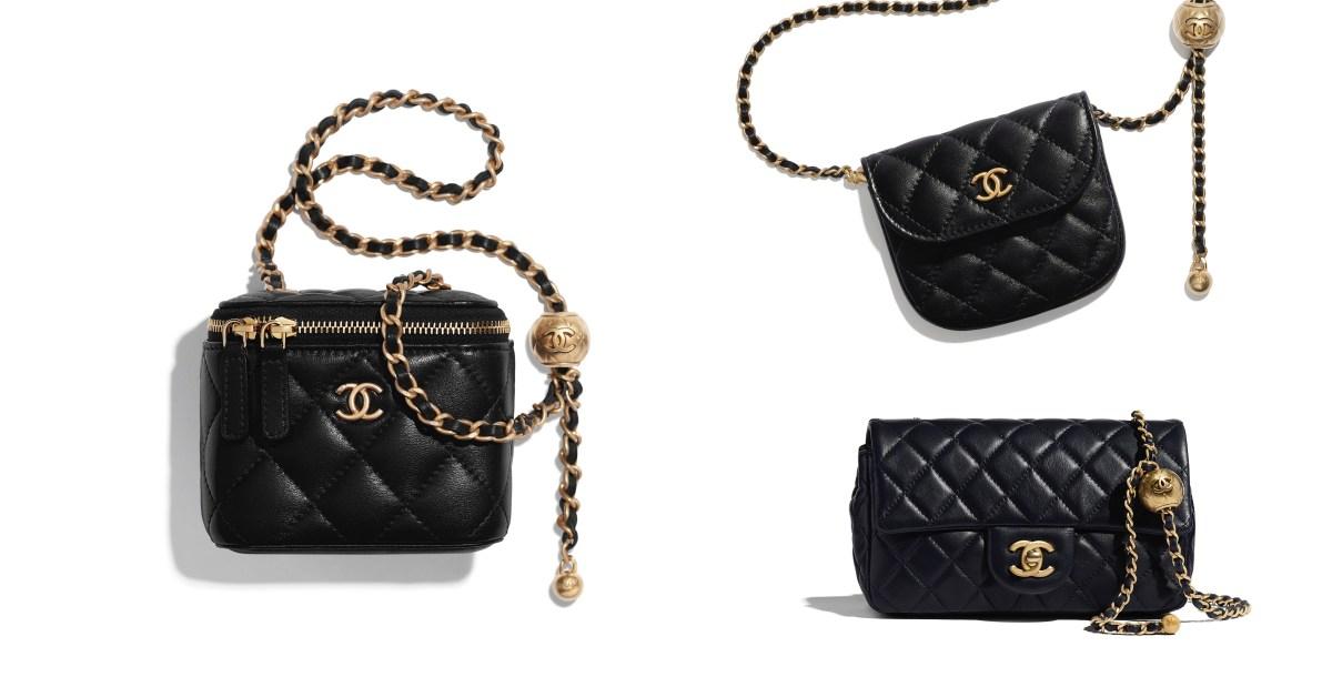 Chanel春夏5款鏈帶包加入這個「設計」,讓小隻女孩再也不怕包包過長啦!