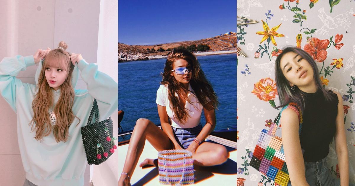 小時候嫌棄的串珠包成為時尚潮人新寵!今夏Gigi Hadid、Irene Kim都來一個的包到底有何魅力?