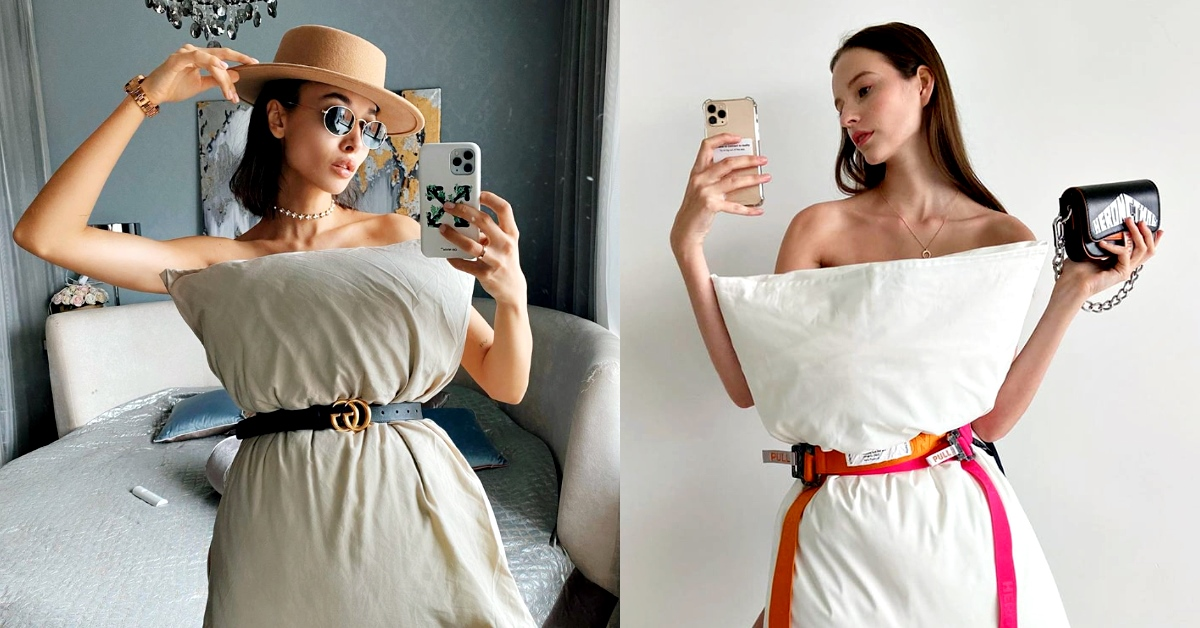 IG「枕頭裙挑戰」賽外賽!哪些品牌「腰帶」出鏡率最高?第一名無懸念就是它!