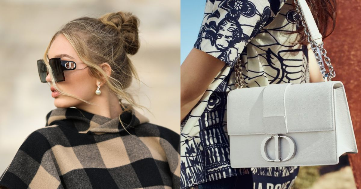 戴上臉直接小一半!Dior這款《蒙田包》為靈感設計的「墨鏡」,根本就是瘦臉神器啊!
