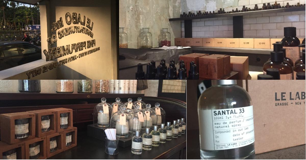 將記憶化作文字印在瓶身上,內行人收藏的LE LABO台灣首間形像店低調開幕