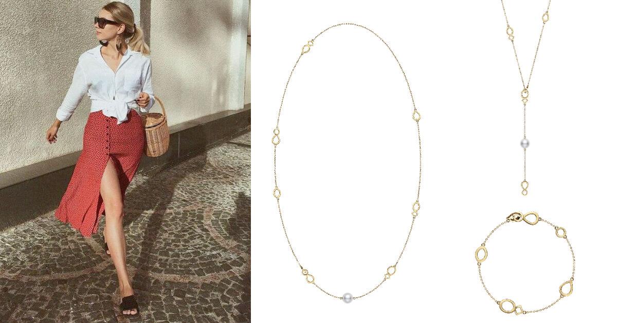 母親節送媽媽珍珠項鍊才是真時尚!MIKIMOTO一條項鍊有3種戴法,還能變換手鍊超百搭