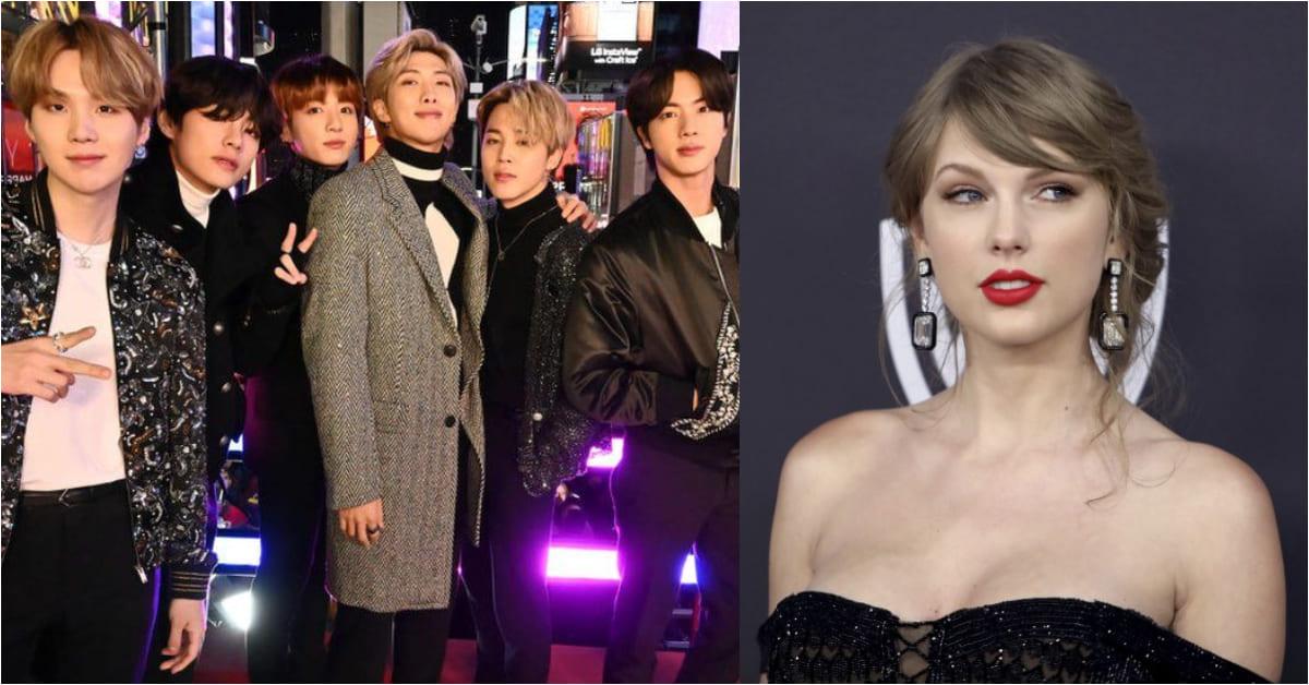 BTS榮登2020年最暢銷藝人!擊敗去年冠軍泰勒絲,K-pop風潮繼續夯