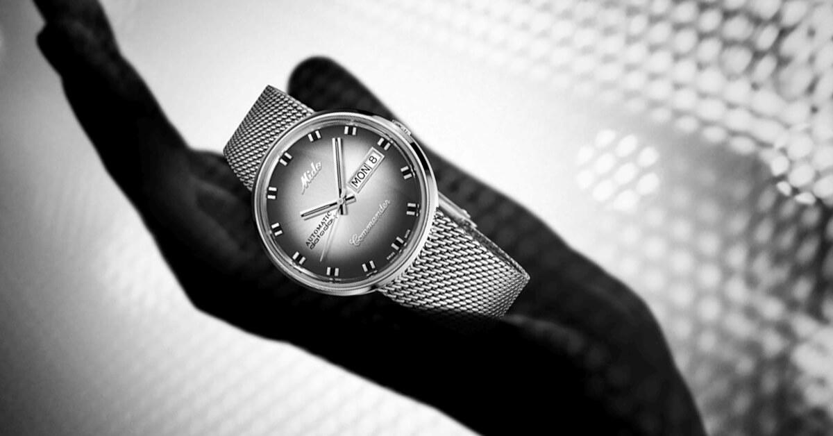 美度錶歡慶一百周年,獨特限量新錶,展現光影之美!
