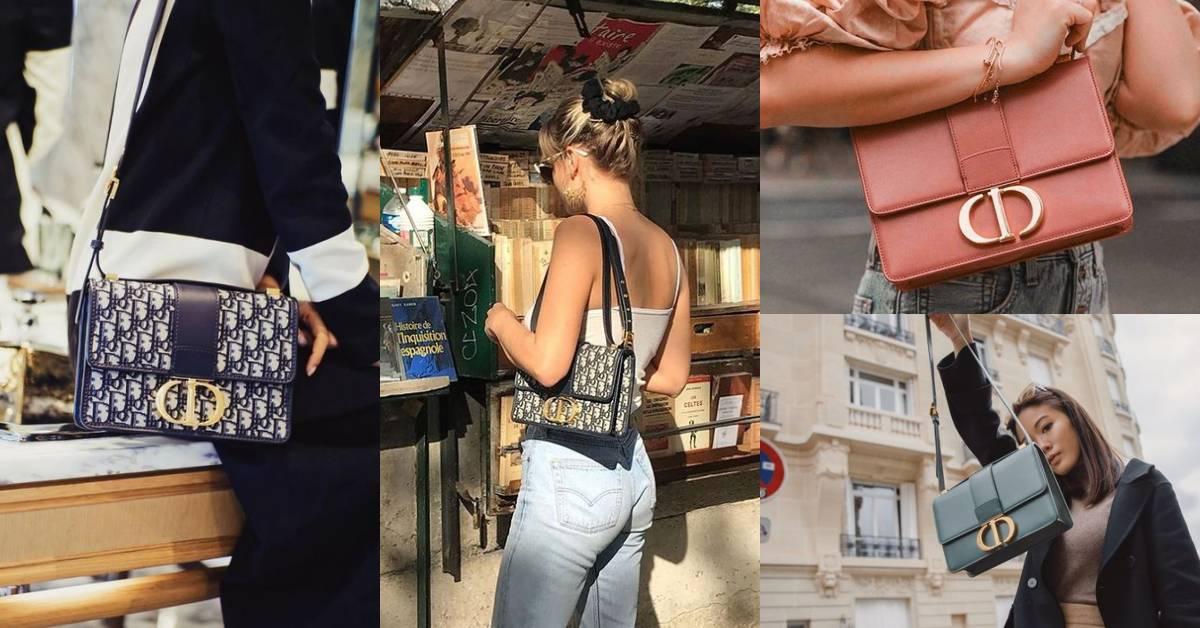 【10Why個為什麼】Dior 30 Montaigne蒙田包半年內成為女人心頭好?除了時髦它迷人的魅力還有…