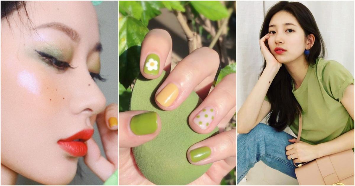 2019夏天最夯的竟是「酪梨綠」!從指彩、妝容到服飾都要跟上的「超顯白」流行