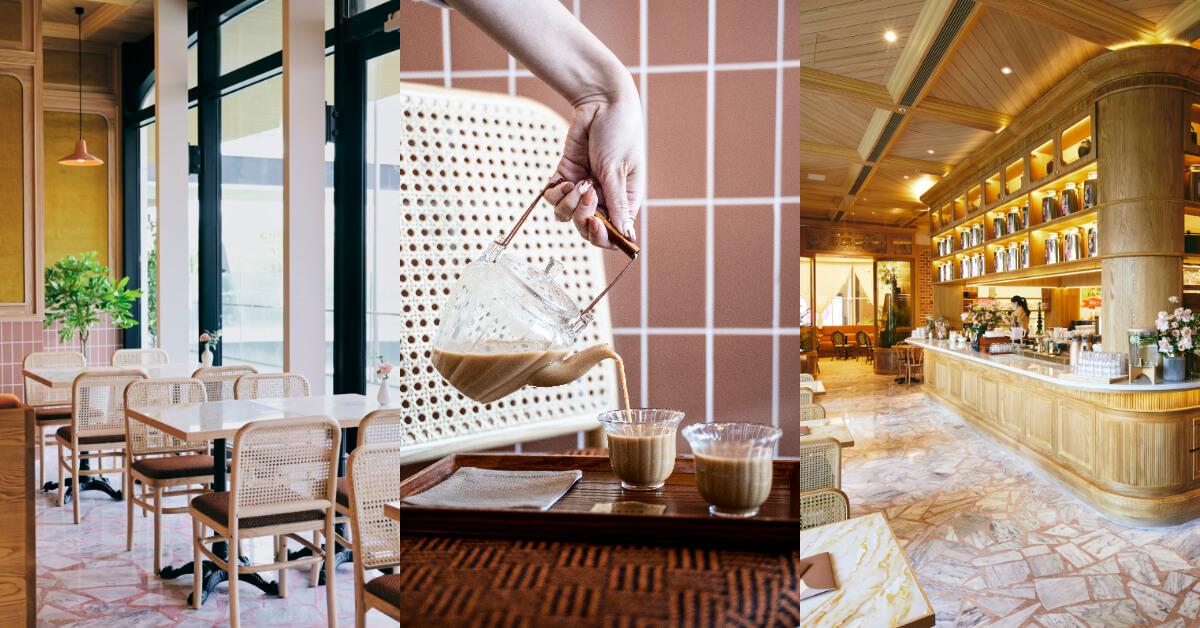永心鳳茶「奶茶專門所」新品牌正式開張 !招牌奶茶搭配精緻台菜,復古質感空間奶茶控必訪!