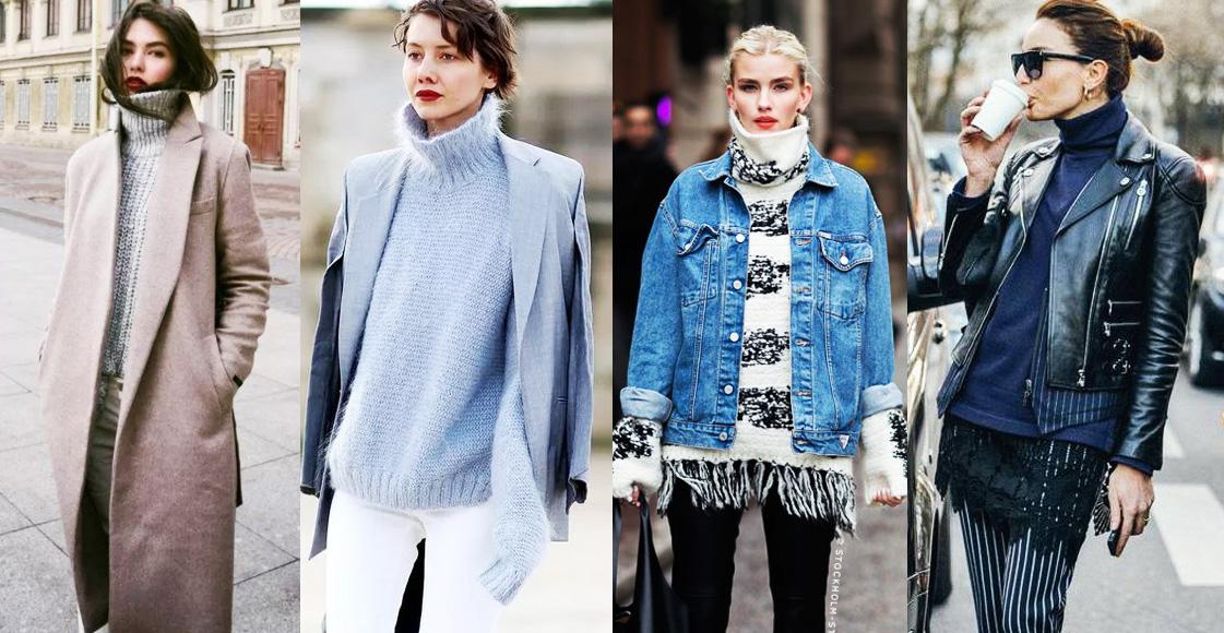 又到毛衣季!推薦4種「高領毛衣+外套款式」穿搭,讓你時髦又保暖!