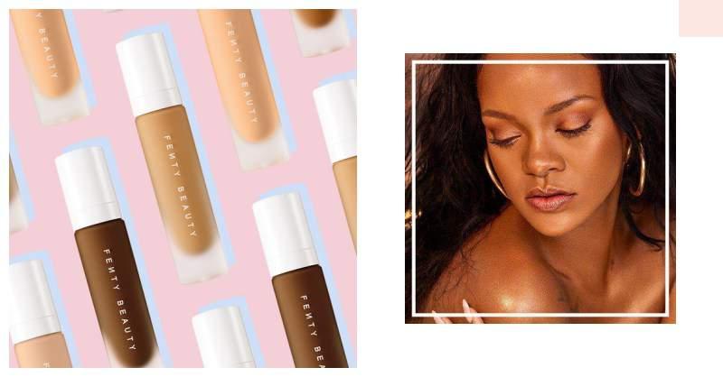 蕾哈娜親自示範!Fenty Beauty by Rihanna 推出超性感身體打亮