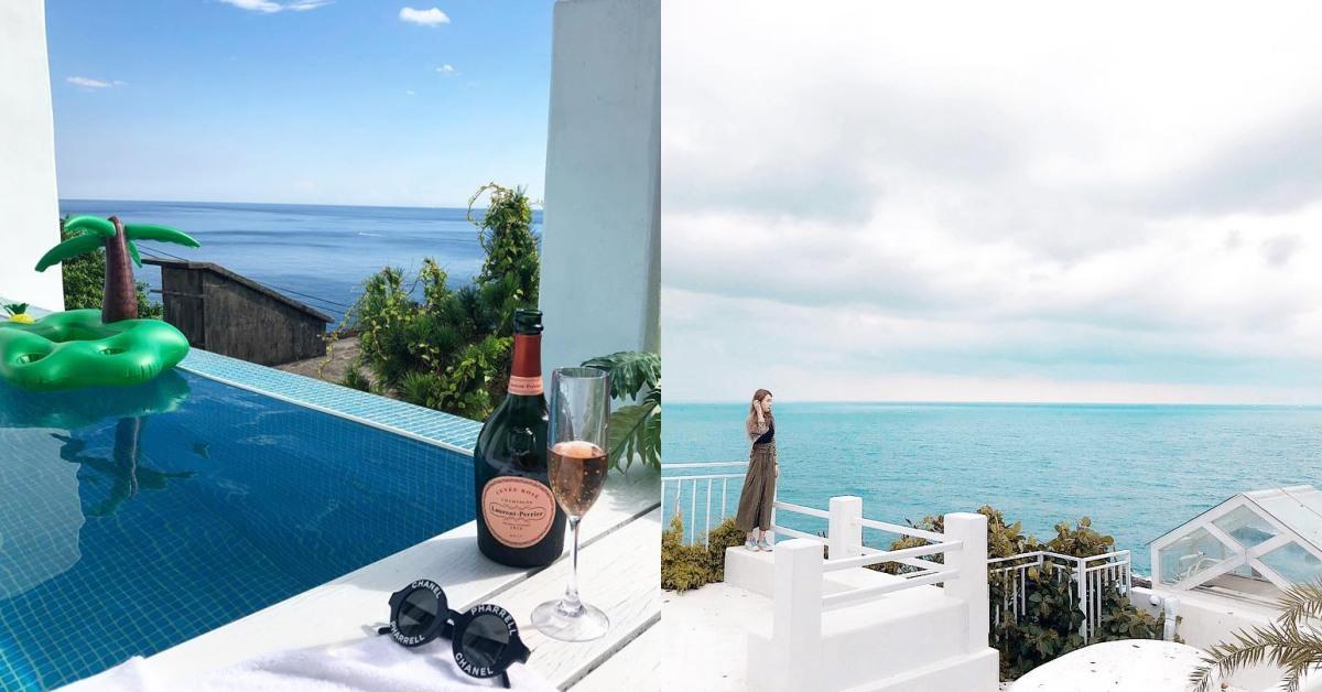 台灣希臘風民宿《Ample villa》宛如來到地中海!美景、無邊際泳池一次滿足