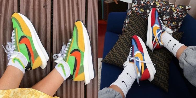 Nike聯名Sacai木屐鞋底、撞色設計!可愛到在網上漲價4倍?怎麼一回事?