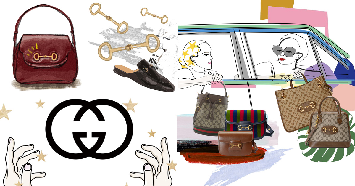 Gucci「Horsebit 1955」竄升品牌新經典包款!承襲馬術淵源,「GG Supreme」上字版實在太吸睛