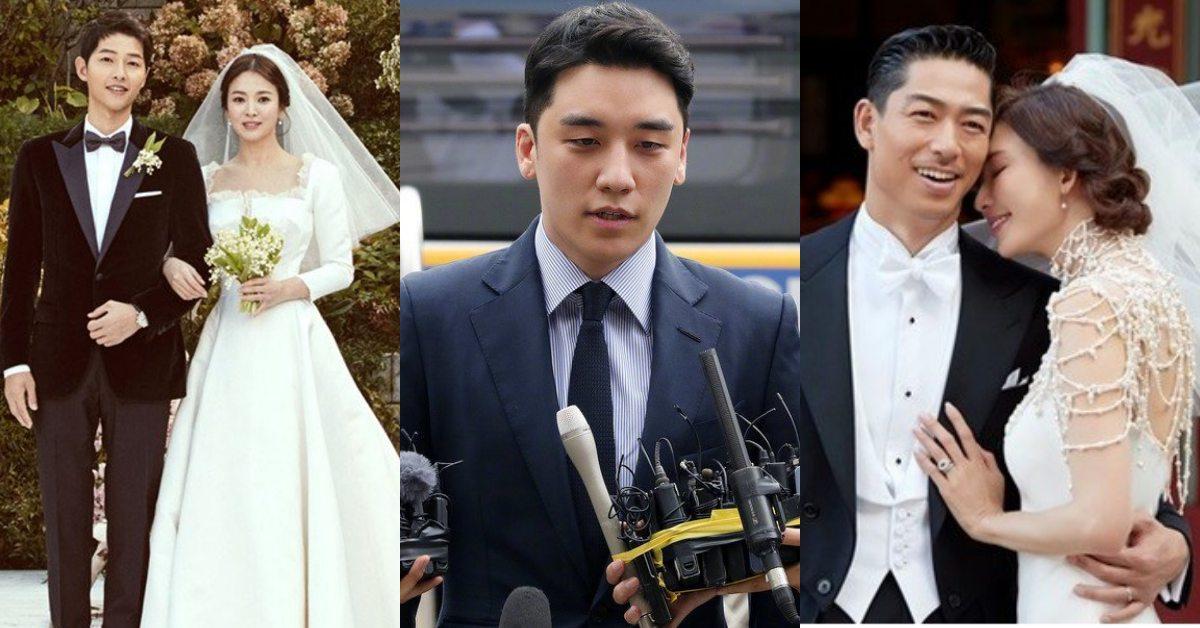 【2019大小事】2019演藝圈最令人震驚的9個大事件!宋宋離婚、韓星性侵風波、志玲姐姐出嫁