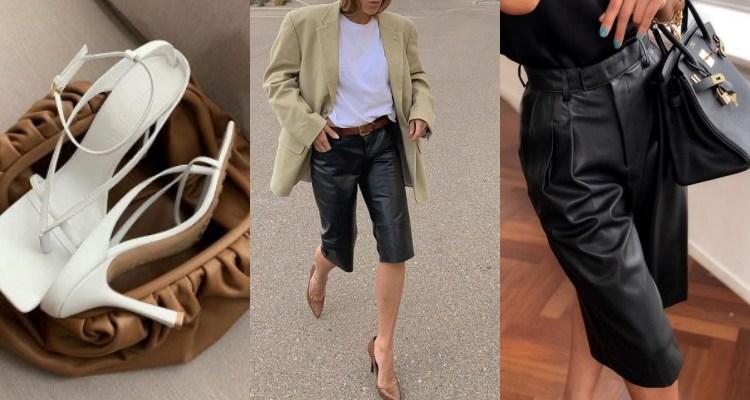 BV不只掀起雲朵包、方頭鞋風潮!更用這款顯瘦的「五分褲」讓所有歐美時髦OL全瘋搶?