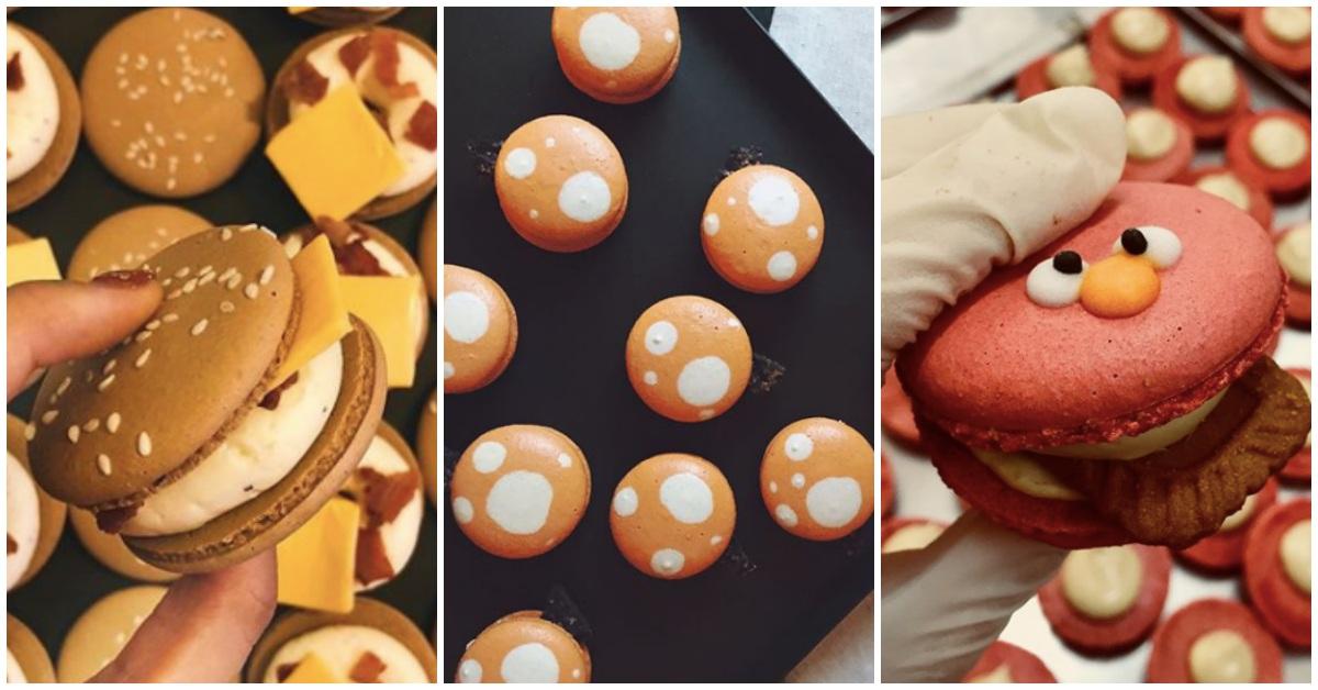 漢堡造型、青蛙圖案萌死人!這3間網上超夯的馬卡龍甜點店逼出妳的少女心