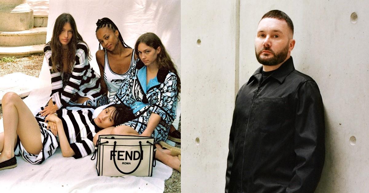 Dior男裝創意總監Kim Jones兼任Fendi女裝,義大利老牌再創高峰就靠他了!