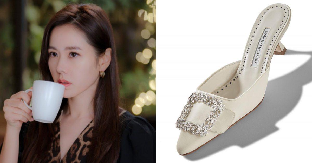 《愛的迫降》孫藝珍鑲鑽居家鞋超奢華!原來「這個牌子」還是凱莉求婚鞋?