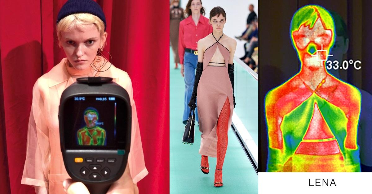 武漢疫情發燒,時尚圈受波及?Gucci 時裝秀後台量體溫,看誰是真正的「發燒模特」!